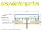 Mittelprofile Glasklemmprofile für VSG Glas, fuer 100 mm Balken